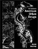 cover of The Evolution of American Urban Design: A Chronological Anthology (Academy Editions)