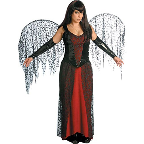 Goth Fairy Adult Halloween Costume Size 6-12