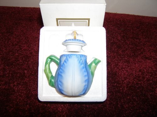 Avon Season's Treasures Miniature Teapot - Tulip (Avon Teapot compare prices)