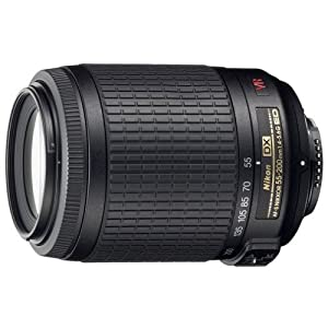Nikon 55-200mm f/4-5.6G ED IF AF-S DX VR [Vibration Reduction] Nikkor Zoom Lens