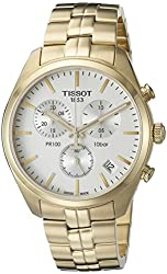 Tissot Men's T1014173303100 Analog Display Quartz Gold Watch