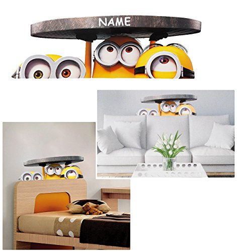 gro e wandsticker minion ich einfach. Black Bedroom Furniture Sets. Home Design Ideas