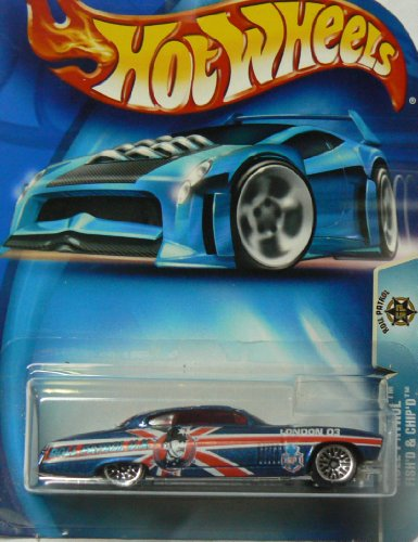 Roll Patrol #5 Fish'd and Chip'd #2003-194 Collectible Collector Car Mattel Hot Wheels - 1