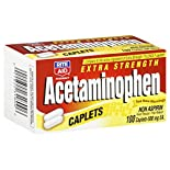 Rite Aid Pharmacy Acetaminophen, Extra Strength, 500 mg, Caplets, 100 caplets