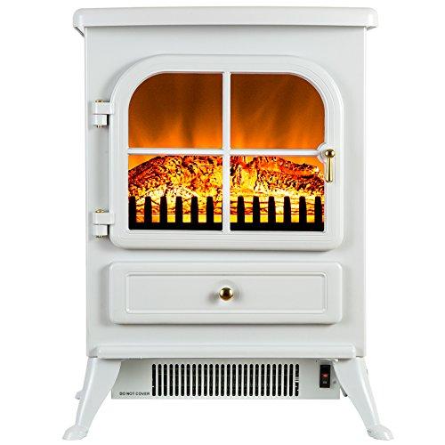 Buy Bargain FIREBIRD 15 1500W Adjustable 2 Setting 5200BTU Freestanding Portable Tempered Glass Ele...