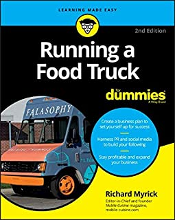 Book Cover: Running a Food Truck For Dummies