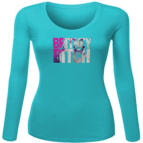 Fashion Britney Spears Bitch Eyes For Ladies Womens Long Sleeves Outlet