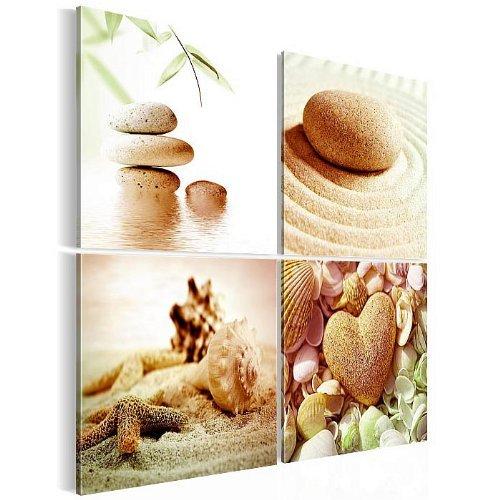 Bilder-Kunstdrucke-Prestigeart-5016463c-Bild-auf-Vlies-Leinwand-Feng-Shui-80-x-80-cm-4-teilig