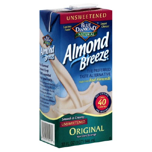 Blue Diamond Original Almond Breeze Unsweetened, fast metabolism diet drink