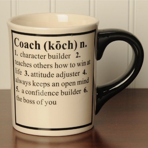 Tumbleweed Pottery Coach Definition Occupational Coffee Mugs
