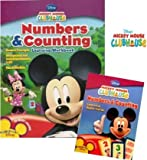 Mickey Mouse Numbers and Counting Set (Workbook and Flash Cards)