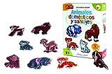 NEO - Animales Domésticos y Salvajes, juego creativo (4006)