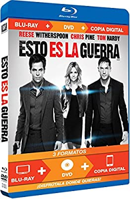 Esto Es La Guerra (Bd+Dvd+Copia Digital) (Blu-Ray) (Import Movie) (European Format - Zone B2) (2012) Reese Wi