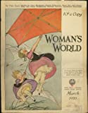 Womans World Magazine (March 1920) (Kite Flying Petticoat Girls cover) (Vol. 36, No. 3)