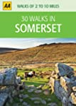 30 Walks in Somerset (AA 30 Walks in)