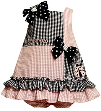 Amazon.com: Size-24M BNJ-3192M 2-Piece PINK BLUE LADYBUGS