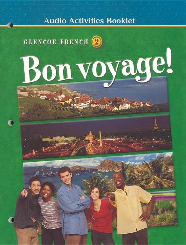 Bon voyage! Level 2, Audio Activities Booklet (French Edition)