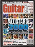 img - for Guitar One Magazine (May 2000) (All Stars 2000 - Today's Top Players Ranked in 20 Categories) book / textbook / text book