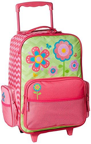 stephen joseph classic rolling luggage  flower