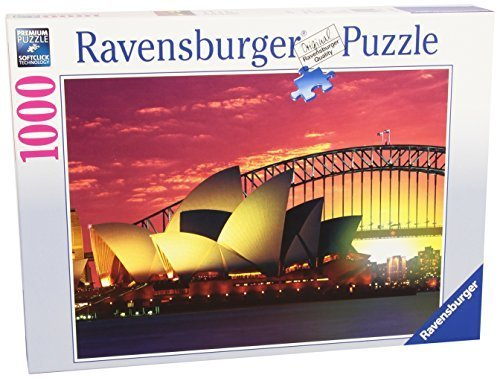 Ravensburger Sydney Opera House And Harbour Bridge Puzzle (1000 Pieces) by Ravensburger