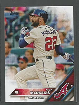 Baseball MLB 2016 Topps #240 Nick Markakis NM-MT Braves