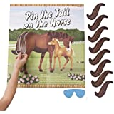 Pin the Tail on the Horse Game Set