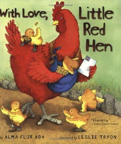 With Love, Little Red Hen by Ada, Alma Flor (2004) Paperback