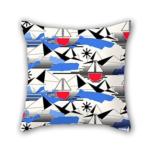 PILLO Sea Cushion Cases 16 X 16 Inches / 40 By 40 Cm Gift Or Decor For Kitchen,kids Girls,car,couch,lover,home Office - Both Sides (Kitchenaid Dishwasher 104 compare prices)