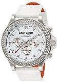 [エンジェルクローバー]Angel Clover 腕時計 リュクスマスター ホワイト文字盤 クロノグラフ スワロフスキー LM46SWZ-WH メンズ