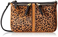 Fossil Erin HC Top Zip Clutch,Cheetah…