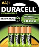 4 x Duracell AAA 1000 mAh SUPREME Rechargeable Batteries ACCU LR03 HR03 DC2400