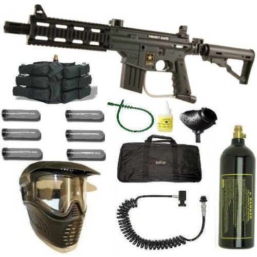 Tippmann Us Army Project Salvo Paintball Gun Sniper Set Transcend 2 Gb Sd Flash Memory Card Ts2gsdc