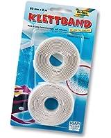 Blister Velcro Adhesif Blanc [Fournitures de bureau]
