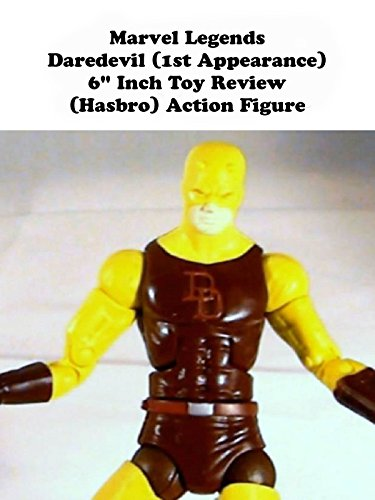 "Marvel Legends DAREDEVIL (1st Appearance) 6"" toy review (Nemesis build a figure version) Hasbro action figure"