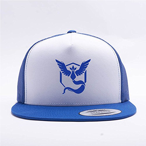 Pokemon-Go-Hat-Team-Mystic-Trucker-Hat-Snap-Back