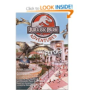 Flyers (Jurassic Park Adventures, 3) Scott Ciencin