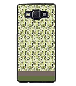 PrintDhaba Owl pattern D-1872 Back Case Cover for SAMSUNG GALAXY A5 (Multi-Coloured)
