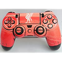 PS4 controller skin ( sticker ) of L.F.C. (Glossy, standard, white, red, black)