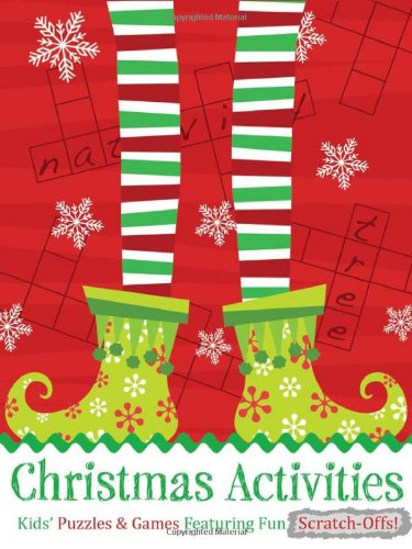 Christmas Activities: Kids' Puzzles & Games Featuring Fun Scratch-Offs!