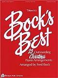 Bock's Best, Vol. 3: 25 Outstanding Christmas Piano Arrangements