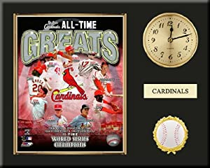 St. Louis Cardinals All Time Greats Team Composite Photo Inserted In A Gold Slide In... by Art and More, Davenport, IA