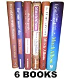 img - for Mitch Albom's 6 Book Set (Tuesdays with Morrie, Have a Little Faith, for One More Day, Five People You Meet in Heaven, Time Keeper, First Phone Call From Heaven book / textbook / text book