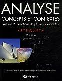 echange, troc James Stewart - Analyse, concepts et contextes : Volume 2, Fonctions de plusieurs variables