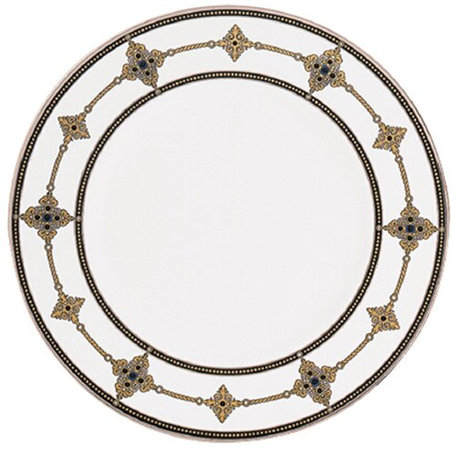 Lenox Vintage Jewel Platinum Banded Bone China 9 Accent Plate