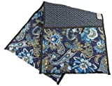 Ableware 703220050 Double-Sided Quilted Walker Tote Bag, Print, Blue