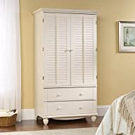 Sauder Harbor View Armoire – Antiqued…