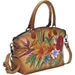 Anuschka Medium Convertible Satchel Tropical Paradise