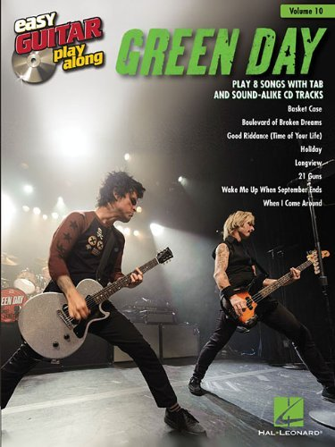 Green Day (Easy Guitar Play-Along (Numbered))
