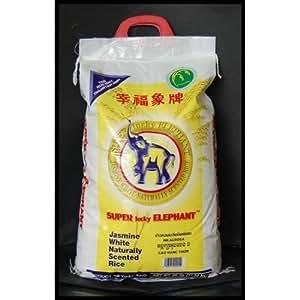 Amazon.com: Super Lucky Elephant Jasmine Rice 25 lbs