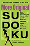 More Original Sudoku (Bk. 3)